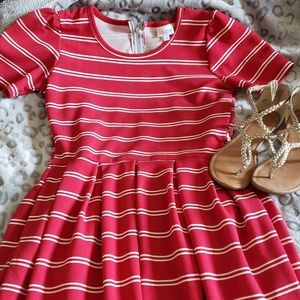EUC Lularoe Amelia Dress